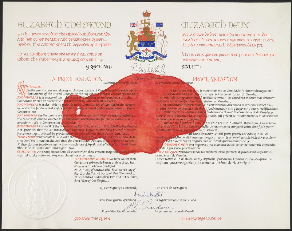 Constitution canadienne